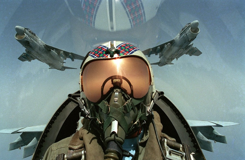 The extreme visual skills of an Apache fighter pilot
