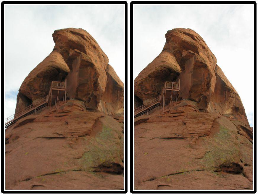 Cross-eyed 3D photography