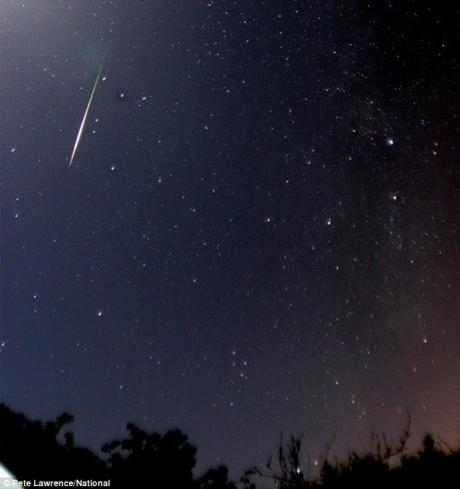 France, Meteor shower watching and Visio-Motor Training