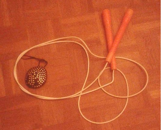Visual rope skipping